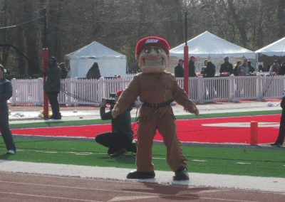 Big Red at Campus Field