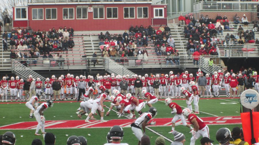 Game Action at Campus Field