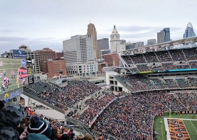 Paul Brown Upper Level Seating