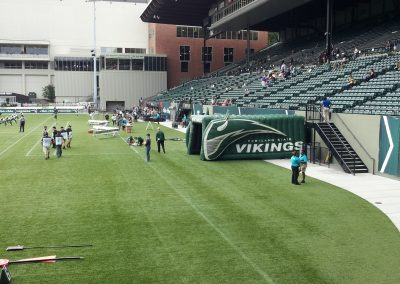 Providence Park, player tunnel