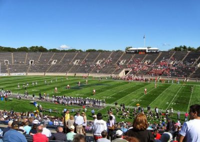 Yale Bowl, the Bulldogs in Action
