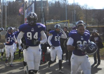 Fitton Field, Holy Cross Crusaders Take the Field