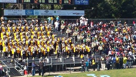 Golden Lions Stadium, UAPB Marching Band