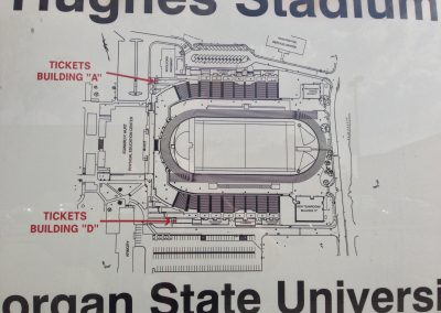 Hughes Stadium, Diagram