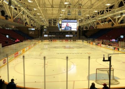 End Zone View at North Bay Memorial Gardens