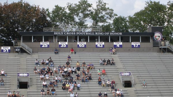 Holy Cross Ring of Honor at Fitton Field