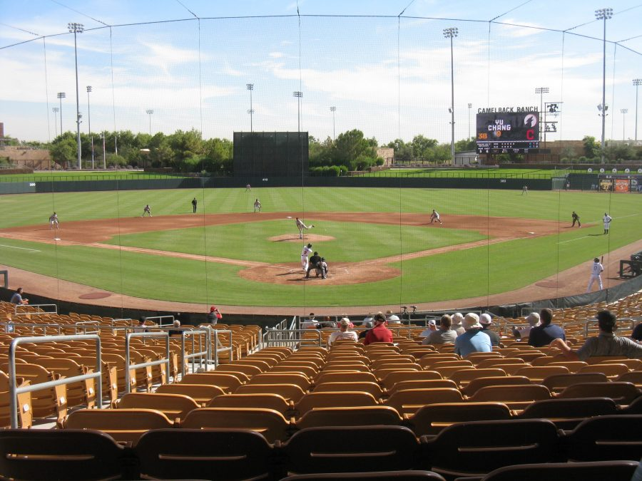 Camelback Ranch - Behind Home Plate View