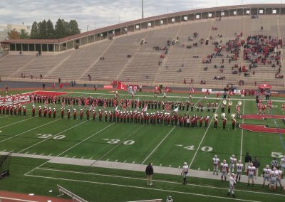 Schoellkopf Field, Cornell Big Red about to come onto the field