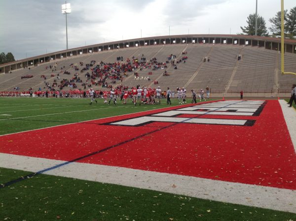 Schoellkopf Field, Cornell Big Red in action