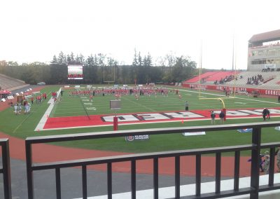 Schoellkopf Field, view from the end zone
