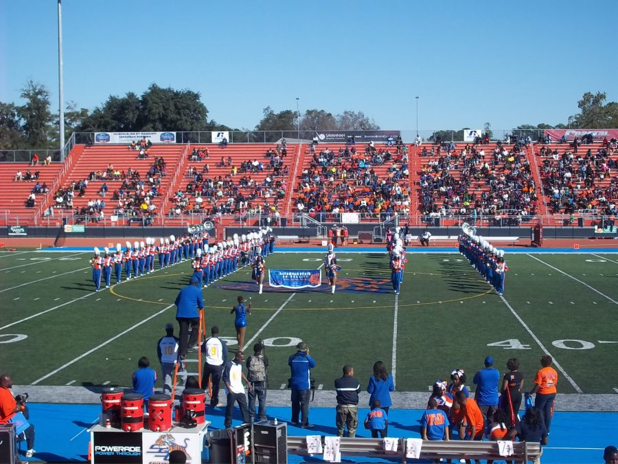 Theodore A. Wright Stadium, Savannah State Marching Band