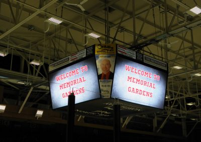 North Bay Memorial Gardens Scoreboard