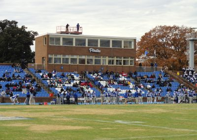 Armstrong Stadium, Reserved Seats and Press Box