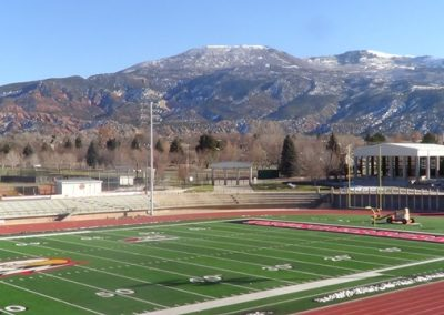 Eccles Coliseum, mountain setting