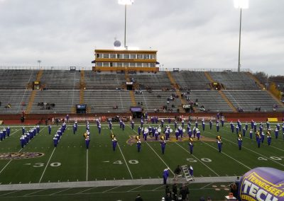 Tennessee Tech Marching Band at Tucker Stadium
