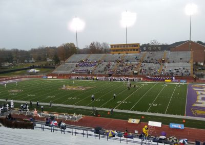View from the Stands at Tucker Stadium