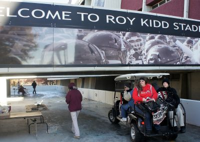 Roy Kidd Stadium Ramp Entrance