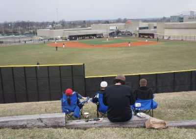 Bill Aker Baseball Complex - View from the Hill