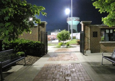 Entrance to Nick Denes Field from Big Red Way