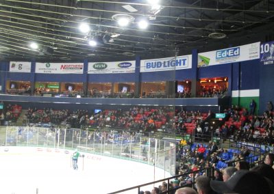 Luxury Suites at the Aud