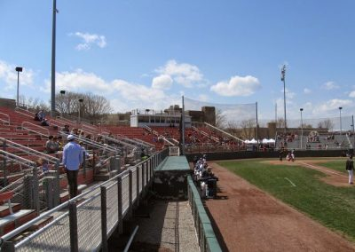 Jack Kaiser Stadium - Looking Toward Home Plate Seats