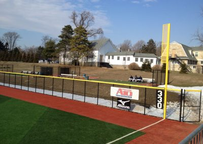 John W Smithson Field - Elevated Bullpens Beyond Outfield