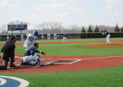 Player Taking a Swing at Bill Beck Field