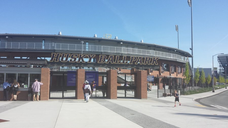 Husky Ballpark Entrance