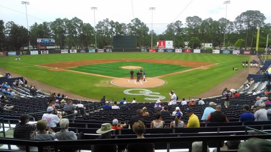 J.I. Clements Stadium Behind Home Plate