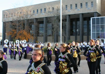 Hanson Field, the Western Illinois Marching Leathernecks