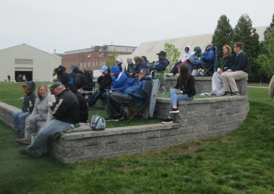 Terraced Seating Area at Bill Beck Field