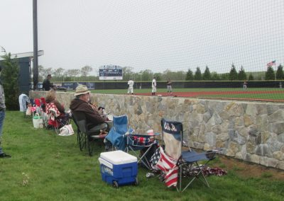 Fans Take in the Action at Bill Beck Field