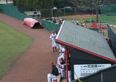 Northern Illinois Huskies Dugout