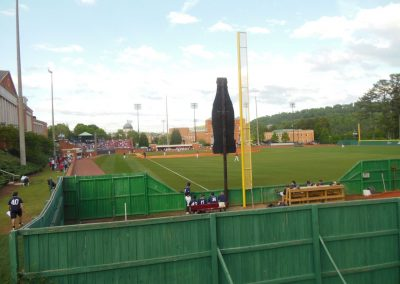 Joe Lee Griffin Field - Bullpen and View from Right Field