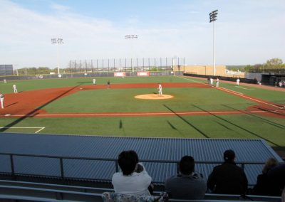 E.S. Rose Park - View from Third Base Side