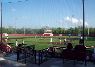 Itchy Jones Stadium - View from Behind Home Plate