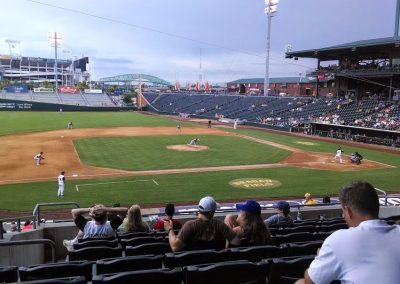 View from Third Baseline at Baseball Grounds of Jacksonville