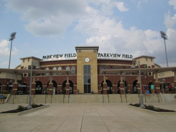 Entrance to Parkview Field