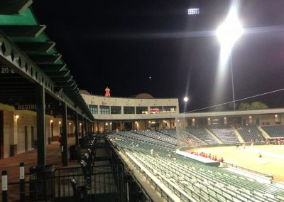 Empty Seats at an AZL Angels game at Tempe Diablo Stadium