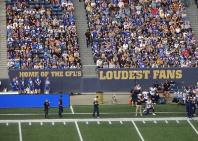 Investors Group Field, Home of the CFL's Loudest Fans