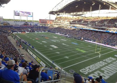 Investors Group Field Interior