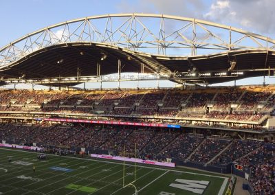 Investors Group Field, Unique Cantilevered Roof