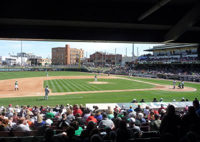 Fifth Third Field Third Base View