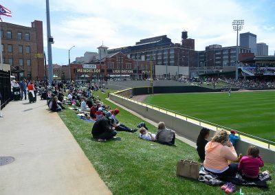 Fifth Third Field Berm Seating