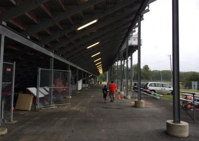 Alumni Stadium, north concourse