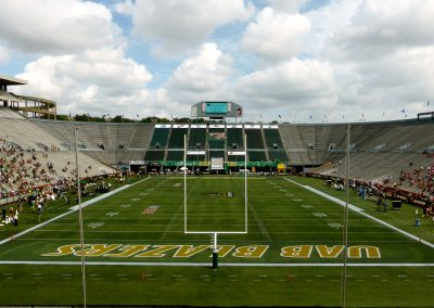 End Zone View at Legion Field