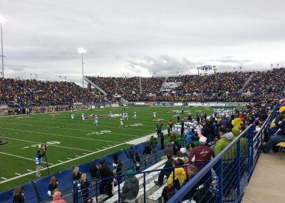 Bobcat Stadium, interior
