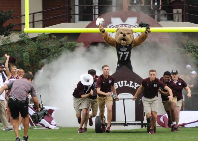 Bully Takes the Field