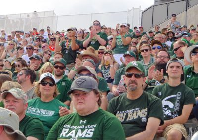Colorado State Stadium, CSU Fans Cheering on the Rams