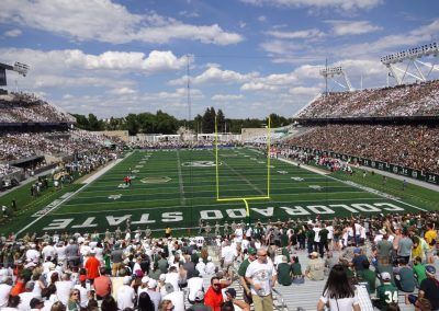 Colorado State Stadium, View from South End Zone